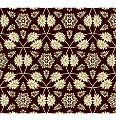 floral background beautiful vector image vector image