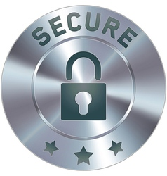 security lock vector image vector image