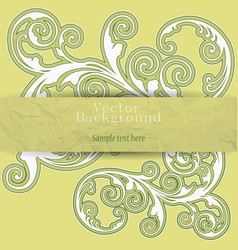 Background in style grunge vector image