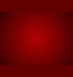 Abstract dots pattern on red background vector