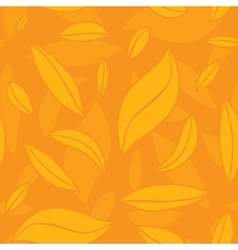 abstract leaf seamless pattern vector image