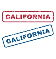 California Rubber Stamps vector