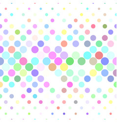 Circle pattern background - from dots vector