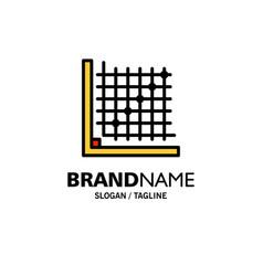 Color correction edit form grid business logo vector