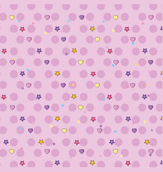 cute background pattern vector image