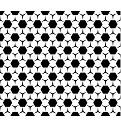geometric seamless pattern hexagons triangles vector image