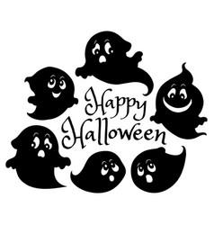Happy halloween composition image 6 vector