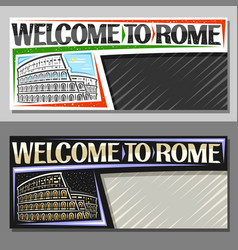 Layouts for rome vector