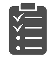 Todo list icon vector