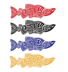 Salmons vector image