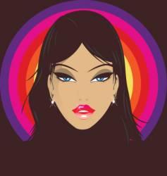 disco babe vector image vector image