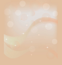 Abstract backround with waves and stars vector