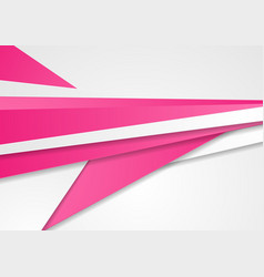 abstract pink and grey corporate background vector image