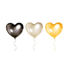 balloons collection isolated vector image