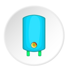 Boiler or water heater icon cartoon style vector