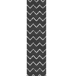 Chalk chevron blackboard vertical border seamless vector
