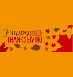 Happy thanksgiving day label vector