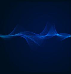 lightwaves vector image