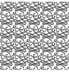 ornate decorative seamless pattern vector image