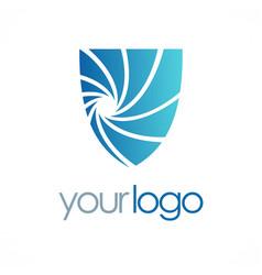 shield guard logo vector image