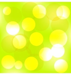 summer forest bokeh vector image