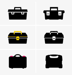 tool boxes vector image