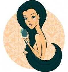 hair hair vector image vector image