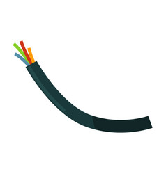 wires in braiding vector image