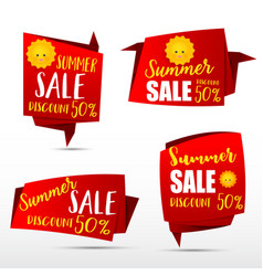 049 collection of web tag banner for promotion vector image