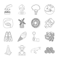 beauty sport transport and other web icon in vector image