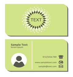 Businessman card13 resize vector image