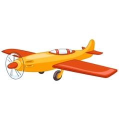 cartoon airplane vector image