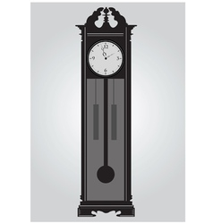 Grandfatherclock vector image