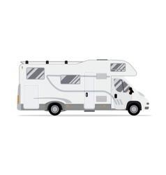 Rv mobile home truck vector