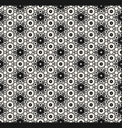 Seamless pattern with hexagons ornament vector