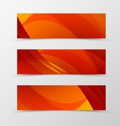 set header banner dynamic design vector image