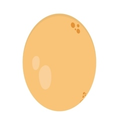 single egg icon vector image