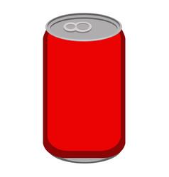 isolated soda icon vector image