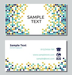 Businessman card14 resize vector image vector image