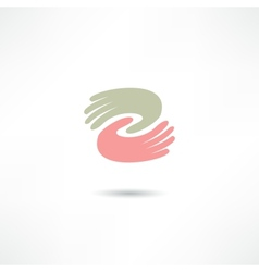 Business icon Handshake Transaction vector image vector image