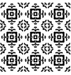 Hipster pixel seamless vector