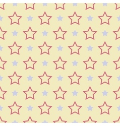 Nice seamless pattern tiling sweet red blue vector
