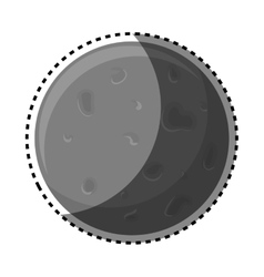 Planet of the solar system vector