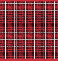 tartan checkered tapestry seamless pattern vector image
