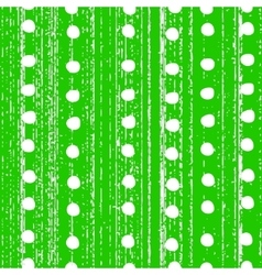 The pattern with white polka dots vector image vector image
