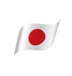 japan flag vector image