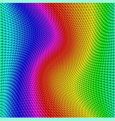 colorful gradient illusion abstract background vector image