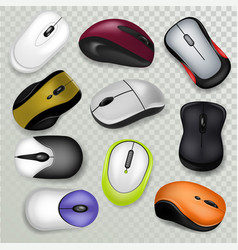 Computer mouse pc clicking device vector
