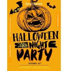 Halloween Boo poster vector