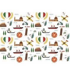 Italy pattern vector